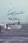 Explorers:Space Exploration, Mercury Seven Astronauts: Signed Book (By Four): We Seven by The Astronauts Themselves, Signed by Glenn, Carpenter...