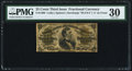 Fractional Currency:Third Issue, Fr. 1300 25¢ Third Issue PMG Very Fine 30.. ...