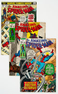 Bronze Age (1970-1979):Superhero, The Amazing Spider-Man Group of 4 (Marvel, 1970-73) Condition:Average VF.... (Total: 4 Comic Books)