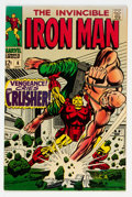 Silver Age (1956-1969):Superhero, Iron Man #6 (Marvel, 1968) Condition: NM-....