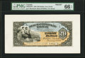 Canadian Currency, Halifax, NS- Merchants' Bank of Halifax $20 1.1.1898 Ch.# 465-20-18P Face Proof PMG Gem Uncirculated 66 EPQ.. ...