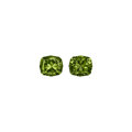Gems:Faceted, Gemstones: Demantoid Garnet Matched Pair - 7.1 TCW...