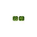 Gems:Faceted, Gemstones: Demantoid Garnet Matched Pair - 5.06 TCW