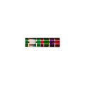 Gems:Faceted, Gemstone: Intarsia Bar - 10.01 Cts.. Multiple Localities. ...
