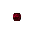 Gems:Faceted, Gemstone: Pyrope - Almandine Garnet - 12.46 Cts.