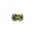 Gems:Faceted, Gemstone: Tri-Color Tourmaline - 10.77 Cts.. East Africa. ...