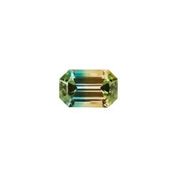 Gemstone: Tri-Color Tourmaline - 10.77 Cts. East Africa