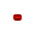 Gems:Faceted, Gemstone: Fire Opal - 5.01 Cts. Queretaro, M...