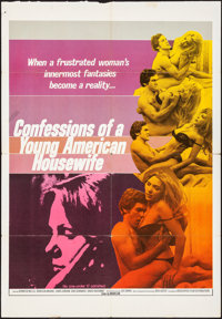 Confessions of a Young American Housewife & Other Lot (Associated Film Releasing, 1976). Folded, Fine+. Trimmed One...