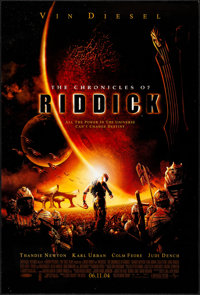"The Chronicles of Riddick & Other Lot (Universal, 2004). Rolled, Very Fine-. One Sheets (3) (27"" X 40""..."