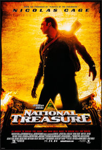 "National Treasure & Other Lot (Buena Vista, 2004). Rolled, Very Fine. One Sheets (3) (27"" X 40"") Advan..."