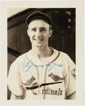 Baseball Collectibles:Photos, Circa 1939 St. Louis Cardinals Signed Photographs Lot of 27 from The Enos Slaughter Collection. ...