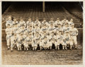 Baseball Collectibles:Photos, 1940 St. Louis Cardinals Team Signed Oversized Photograph from TheEnos Slaughter Collection. ...