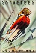 """Movie Posters:Action, The Rocketeer (Walt Disney Pictures, 1991). Rolled, Very Fine/Near Mint. One Sheet (27"""" X 40"""") DS Advance. John Mattos Artwo..."""