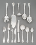 Silver Flatware, American, A One Hundred Fifteen-Piece Lebolt Silver Flatware Service,Chicago, early 20th century. Marks: STERLING, HAND MADE,LEBOL... (Total: 115 Items)