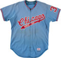 Baseball Collectibles:Uniforms, 1973 Steve Stone Game Worn Chicago White Sox Jersey. ...
