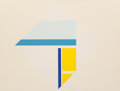 Ilya Bolotowsky (1907-1981) Series 4, c. 1970 Screenprint in colors on paper 30-1/2 x 40 inches (