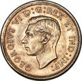Canada, George VI 25 Cents 1939 MS65 PCGS, Royal Canadian ...
