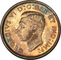Canada, George VI 25 Cents 1944 MS65 PCGS, Royal Canadian ...