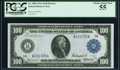 Fr. 1084 $100 1914 Federal Reserve Note PCGS Choice About New 55