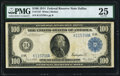 Fr. 1127 $100 1914 Federal Reserve Note PMG Very Fine 25