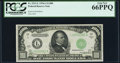 Small Size:Federal Reserve Notes, Fr. 2212-L $1,000 1934A Federal Reserve Note. PCGS Gem New 66PPQ.. ...