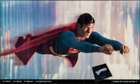 """Superman the Movie (Warner Brothers, 1978). Folded, Very Fine-. Soundtrack Poster (60"""" X 36""""). Action"""
