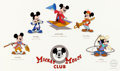 Animation Art:Seriograph, Mickey Mouse Club Sericel with 3 Mouseketeers Signatures (Walt Disney, 1995)....