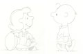 Animation Art:Production Drawing, Peanuts - Here's to You, Charlie Brown: 50 Great Years Lucy and Charlie Brown Football Gag Animation Drawings with... (Total: 3 Items)