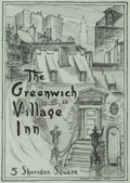 Fine Art - Work on Paper, Stuart Davis (American, 1892-1964). The Greenwich VillageInn, 1918. Crayon, gouache, ink and pencil o...