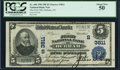 Durham, NC - $5 1902 Plain Back Fr. 600 The First NB Ch. # (S)3811 PCGS About New 50