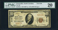 National Bank Notes:North Carolina, Greenville, NC - $10 1929 Ty. 1 The NB of Greenville Ch. # 8160 PMG Very Fine 20.. ...