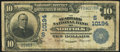 National Bank Notes:Virginia, Norfolk, VA - $10 1902 Plain Back Fr. 628 The Seaboard NB Ch. #(S)10194 Very Good.. ...