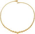 Estate Jewelry:Necklaces, Gold Necklace, Cartier, French. ...