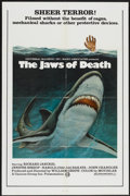 """Movie Posters:Adventure, The Jaws of Death (Cannon, 1977). One Sheet (27"""" X 41"""").Adventure...."""