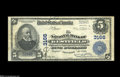 A Pair From Two of the Blue States Westfield, NY - $5 1902 Plain Back Fr. 598 NB of Westfield Ch. #3166 VF Providence, R...
