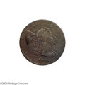 Large Cents: , 1794 1C Head of 1793 XF40 NGC. VF25 EAC....