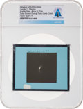 Explorers:Space Exploration, Apollo 11 Original NASA Glass Film Slide, an Image of the Solar Corona During Trans-Lunar Coast, Directly From The Armstro...