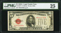 Fr. 1526* $5 1928A Legal Tender Note. PMG Very Fine 25