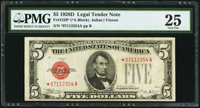 Fr. 1529* $5 1928D Legal Tender Note. PMG Very Fine 25