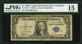 Small Size:Silver Certificates, Fr. 1610* $1 1935A S Silver Certificate. PMG Choice Fine 15.. ...