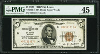 Fr. 1850-H $5 1929 Federal Reserve Bank Note. PMG Choice Extremely Fine 45