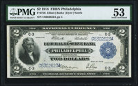 Fr. 756 $2 1918 Federal Reserve Bank Note PMG About Uncirculated 53
