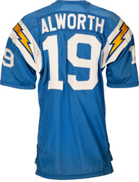 big sale 67973 670cf 1968-69 Lance Alworth Game Worn San Diego Chargers Jersey ...