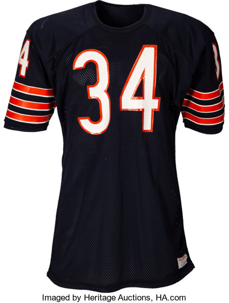online store 449d1 9a307 Late 1970's Walter Payton Game Worn Chicago Bears Jersey ...
