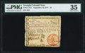 Colonial Notes:Georgia, Georgia September 10, 1777 $1 PMG Choice Very Fine 35.. ...