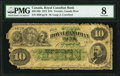 Canadian Currency, Toronto, ON- Royal Canadian Bank $10 1.7.1872 Ch.# 635-14-08 PMG Very Good 8.. ...