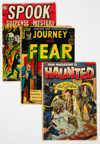 Golden Age Horror Comics Group of 23 (Various Publishers, 1950s) Condition: Average GD/VG.... (Total: 23 Comic Books)