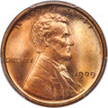 Lincoln Cents, 1909 1C MS67+ Red PCGS. CAC....