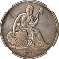 Gobrecht Dollars, 1836 P$1 Name on Base, Judd-60 Original, Pollock-65, R.1 -- Cleaned -- NGC Details. XF....
